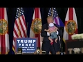 'Give Me That Baby!': Trump Brings 'Future Construction Worker' Infant Up On Stage - Tampa Rally