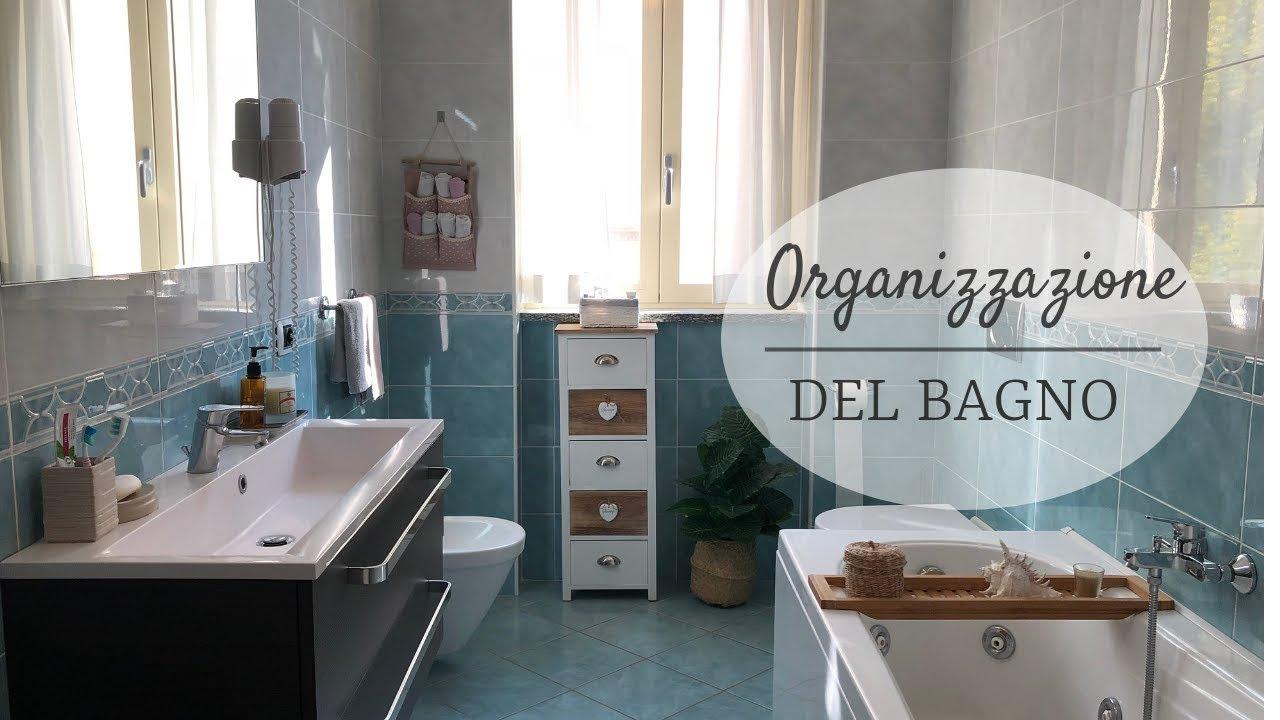 ♡ organizzazione del bagno ♡ youtube
