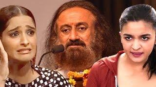 Sonam Kapoor, Alia Bhatt SLAMS Sri Sri Ravishankar On Twitter