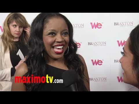 SHANICE Interview at WE TV Series