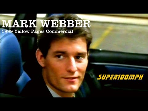 MARK WEBBER 1999 Yellow Pages Commercial