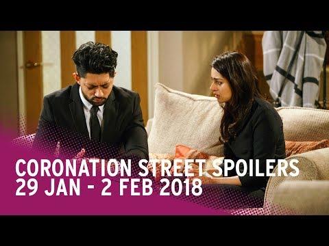 Coronation Street spoilers: 29 January-2 February 2018 - Corrie