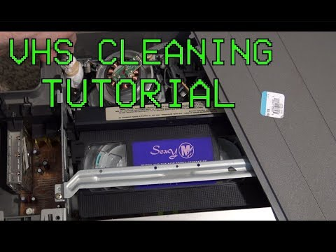 Moldy VHS Tape Cleaning Tutorial