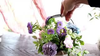 서초동꽃집 카네이션꽃바구니예약무료배달