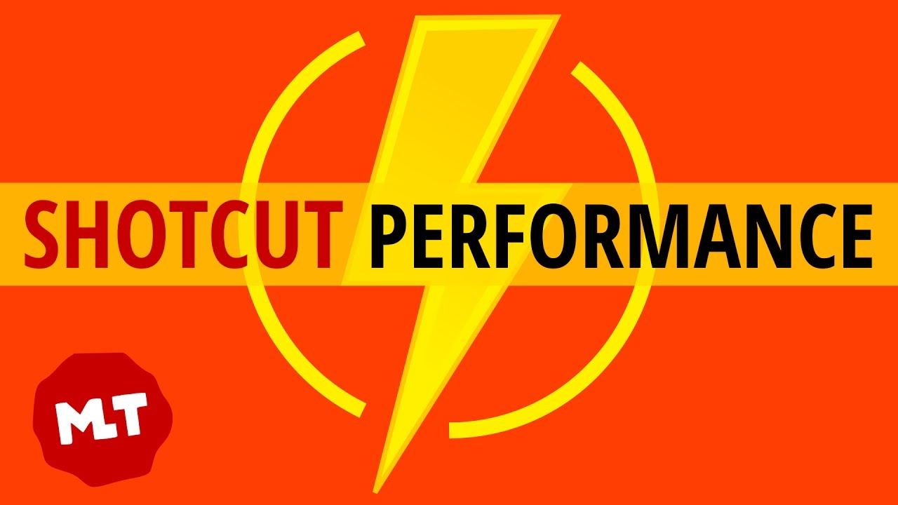 Increase Shotcut Performance | Tips for Better, Faster Playback