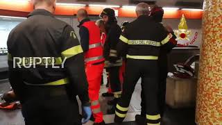 Italy: Russian fans injured in Rome escalator accident