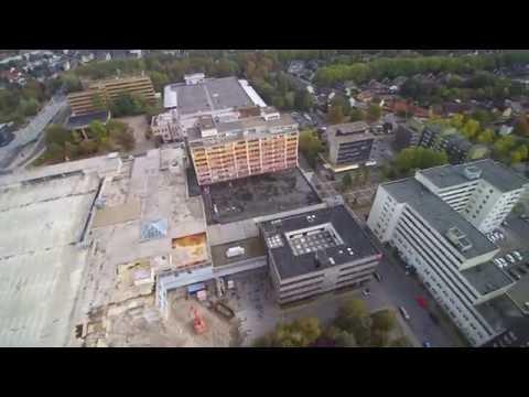 Bergkamen Aerial Perspektive 4k Uncut