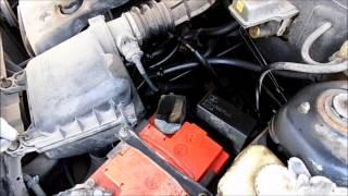 Неисправность Приоры. Что может случиться, если не прогревать двигатель зимой.(На непрогретом двигателе давали обороты, выдавило заглушку подшипника коленвала, масло почти убежало,..., 2014-11-26T15:08:13.000Z)