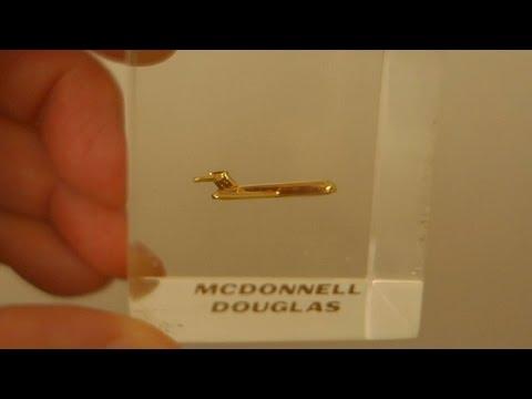 MCDONNELL DOUGLAS AIRCRAFT SOUVENIR