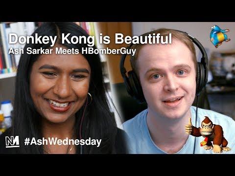 Donkey Kong is Beautiful | Ash meets HBomberGuy