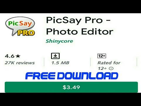 PicSay Pro Apk 2019 Latest Version   Download PicSay Photo ...