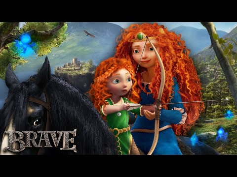 Brave: Merida has a daughter - and they train together! 🐻👑 Merida's Future | Alice Edit!