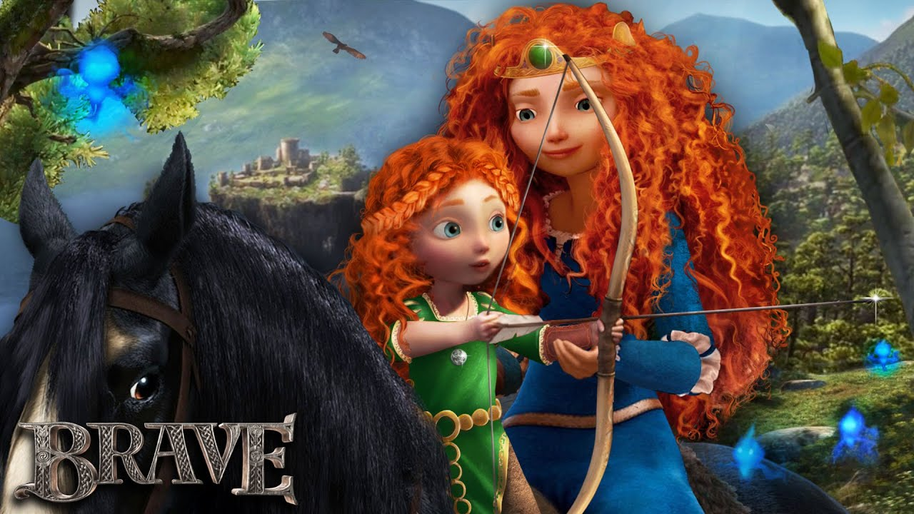 Download Brave: Merida has a daughter - and they train together! 🐻👑 Merida's Future | Alice Edit!