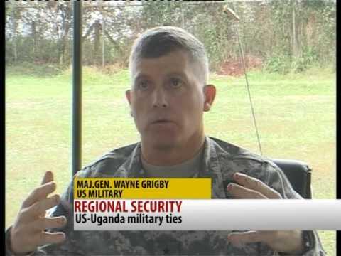 Maj.Gen.Wayne Grigsby visits Uganda. [Regional Security]
