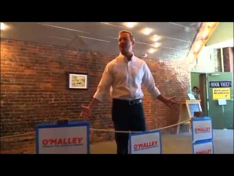 Democrat Presidential Candidate Martin O'Malley visits Oskaloosa