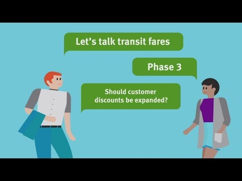 Transit Fare Review Phase 3 - Customer discounts