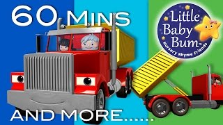 Little Baby Bum | Song About Trucks | Nursery Rhymes for Babies | Songs for Kids