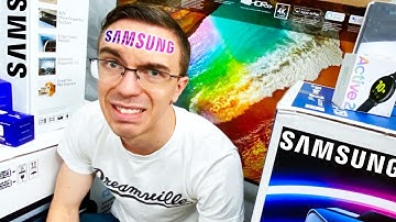I Bought EVERY Samsung Product 🤦♂️