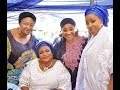 See Ronke Oshodi-Oke & other actress eating and having fun at at Dayo Amusa Dad Burial ceremony