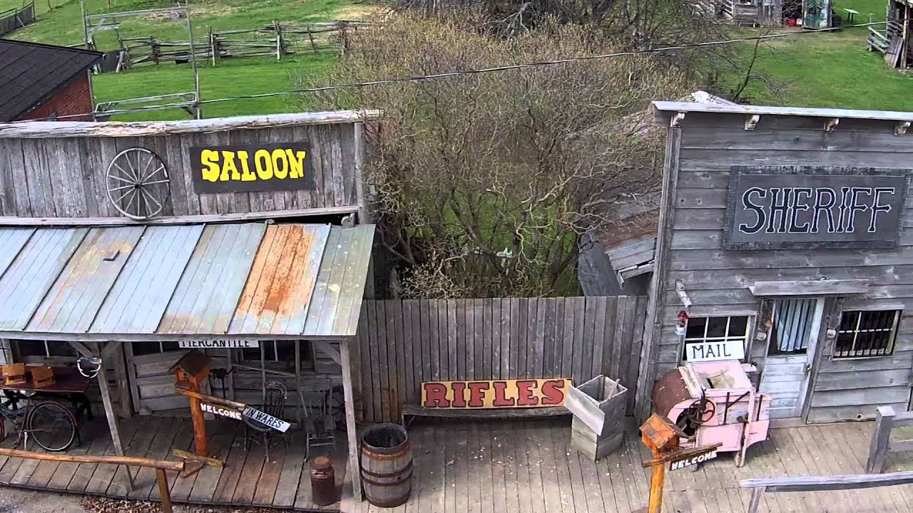 the docville wild west movie set canada youtube