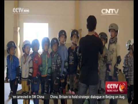 Post NATO Afghanistan ep.4: Kabul children skateboard toward better future