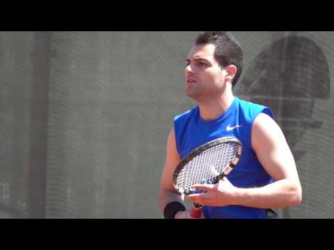 Tennis Player 2017 In Yerevan, Armenia