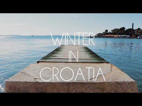 WINTER on the BEACH in CROATIA