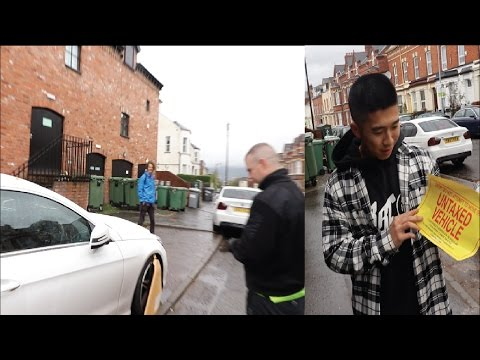 VLOG 40 THEY CLAMPED MY CAR!!!