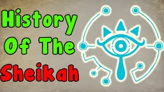 The History Of The Sheikah (The Legend Of Zelda Breath Of The Wild)