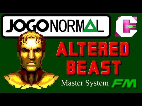 Altered Beast (Master System) #1: No Console Real Com FM | CFX