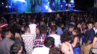 Banda Hermanos Lopez en la Graduacion de la Telesecundaria Duarte 2014 Parte 1