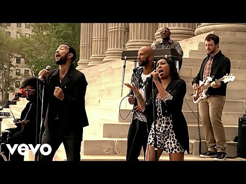 John Legend, The Roots - Wake Up Everybody (Video) ft. Melanie Fiona, Common