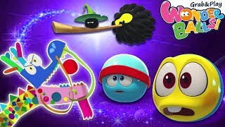 Squishy Balls Magical Pet Dragon | Wonderballs Cartoon | Funny Animated Cartoons for Kids