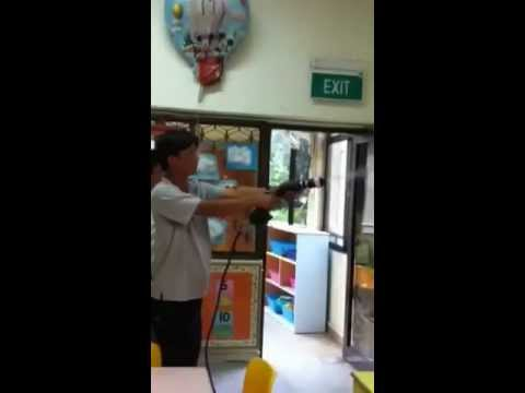 nano TiO2 Smart Coat Application at Kinderland Singapore