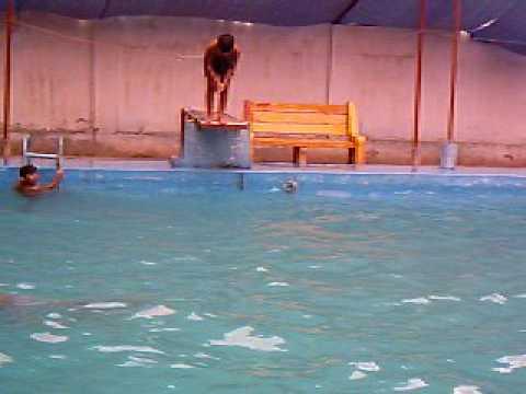 Hashir Areeb Azizabad Karachi The Twin Brothers Are Swimming At Leisure Youtube
