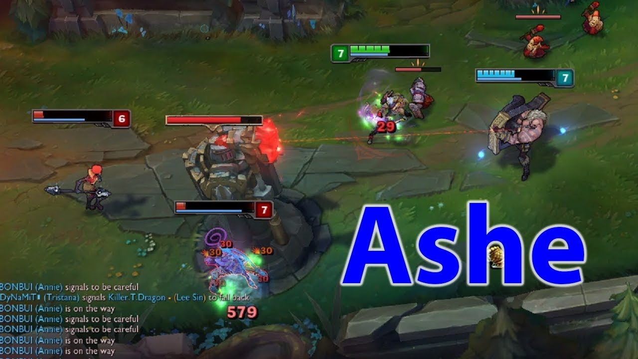 How to S Ashe - Build Ashe ad carry