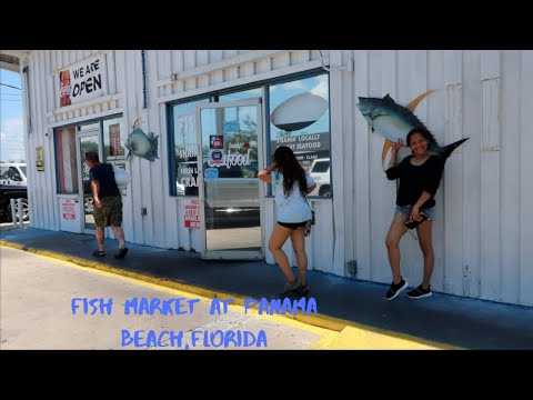 Fish Market At Panama City Beach,FL