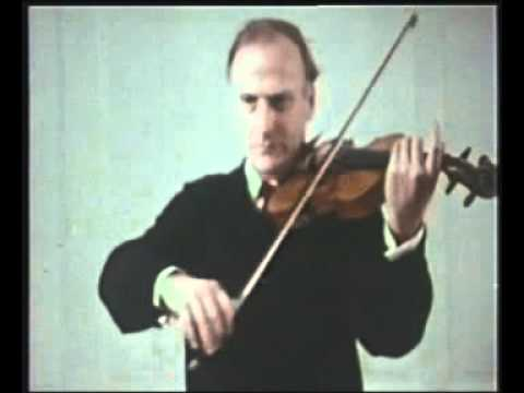 Yehudi Menuhin Violin Tutorial - 4. Right Hand Playing (incomplete)