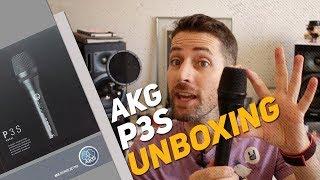 UNBOXING - Microfone Dinâmico Akg P3s Perception P3 S