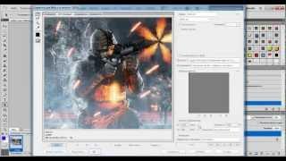 Видео урок в фотошопе Cs 5