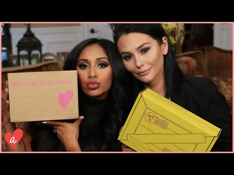 Snooki and JWOWW Subscription Boxes! | #MomsWithAttitude Moment
