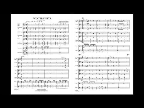 Winter Fiesta arranged by Paul Jennings