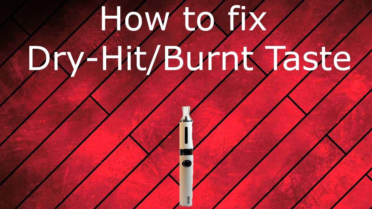 How to get rid of burnt taste in your vape!