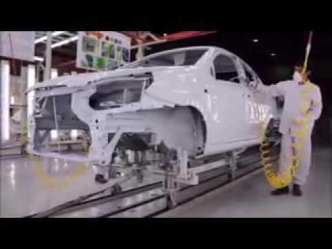 GM Uzbekistan заводида автомобиль тайёрлаш жараёни