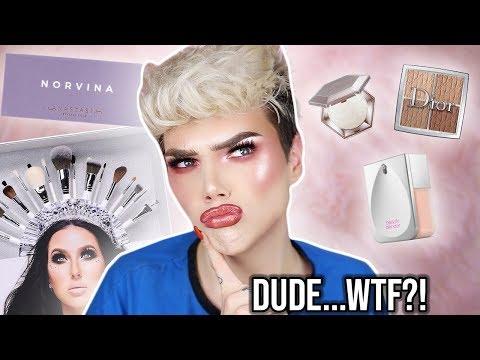 TESTING NEW HYPED MAKEUP! Beauty Blender, Jaclyn Hill x Morphe, and more! | Thomas Halbert thumbnail