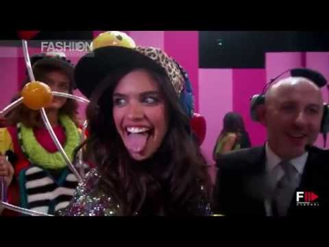 VICTORIA'S SECRET 2014 SARA SAMPAIO Exclusive Interview by Fashion Channel