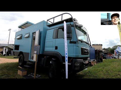 MAN TGM 13.290 4X4 MEGA CAMPER RV TRUCK EXPEDITION VEHICLE BY ORANGEWORK WALKAROUND AND INTERIOR