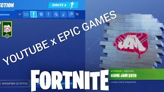 FORTNITE: Youtube x EPIC's first free award - game Jam Hollywood aerosol!