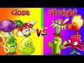 Plants vs Zombies 2 Mod Team vs Team Close vs Straight Range Plants Challenge in PVZ 2 Game