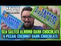 Tony's Sea Salt Almond Dark Chocolate & Pecan Coconut Dark Chocolate Reviews